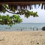 ダナンのローカルビーチ