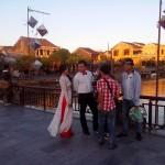 ホイアンで見つけた結婚式の写真撮影