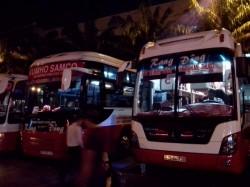 バンメトートへ向かうバス