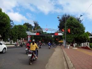 バンメトート市街入口