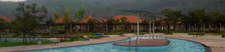 ベトナム中部、ダナンにあるフックニョン温泉(PhuocNhon)の泥温泉でリラックスしよう♪