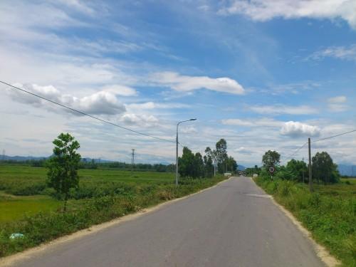 ベトナムの田舎道
