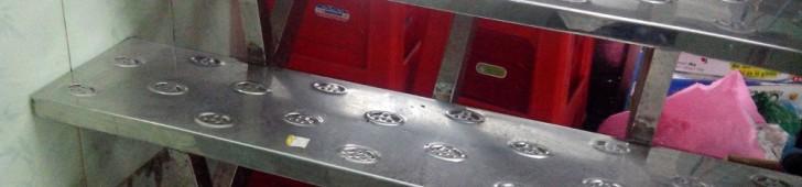 [2013/4/22]トヨタのロゴが入っている階段