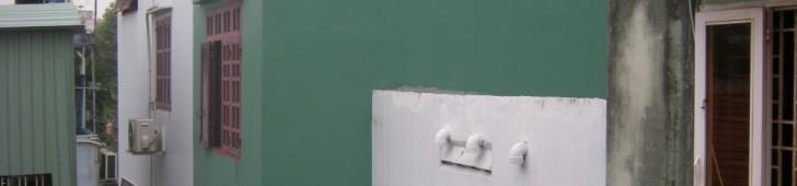 [2013/4/28]ぴたりとくっついた家々