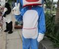 [2013/4/11]プールサイドに現れた猫型ロボットドラえもん