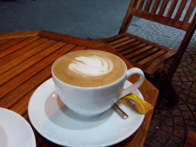 thuc cafeのカフェラテは美味しいです!