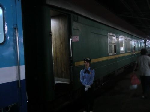列車入り口