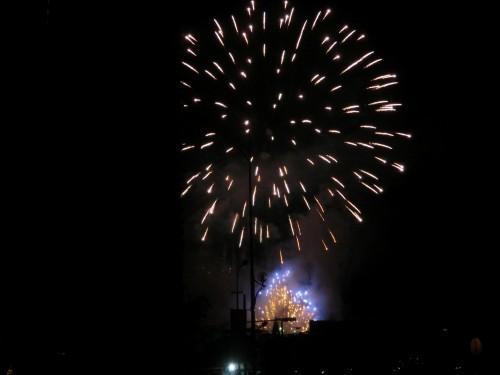 イタリアの花火