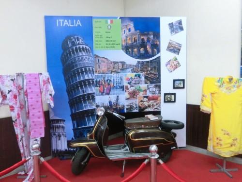 イタリアの展示