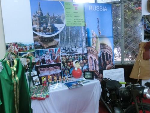 ロシアの展示