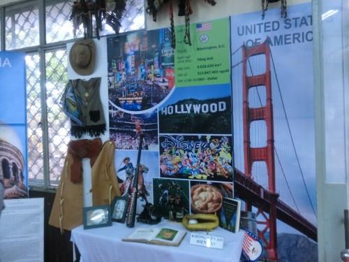 アメリカの展示