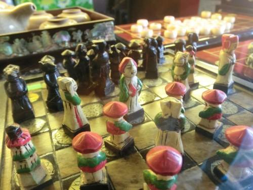 古都で見つけたチェスセット