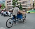 [2013/5/25]ベトナムの3輪自転車