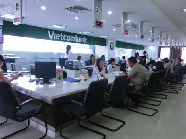 Vietcombankカウンター