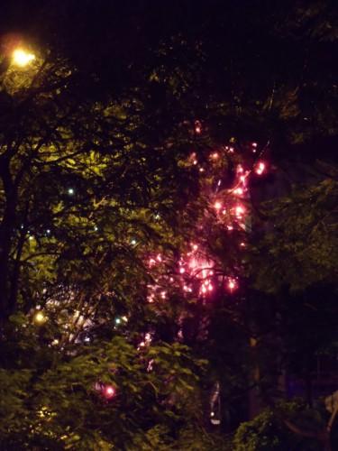 ホーチミンで花火をみに行ってきました