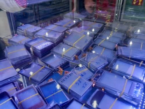 携帯の液晶部品