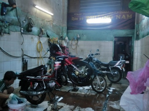 バイク洗車専門店