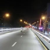 [2013/6/11]ホーチミンの幹線道路に作られるオーバーパス