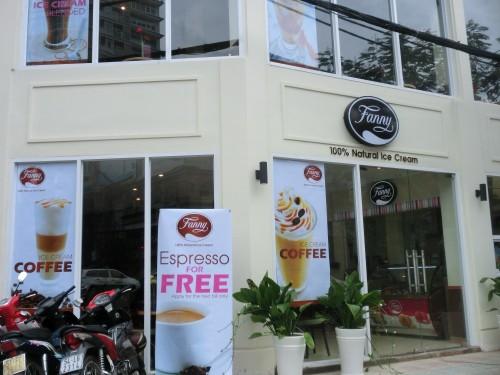 街中に増えるアイスクリーム店