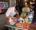 [2013/6/5]フルーツと野菜のカービングアート