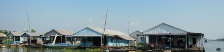 [2013/6/28]メコンデルタの水上家屋