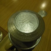 [2013/6/24]カフェでみかけた銅鼓文様