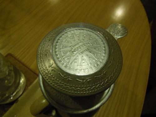カフェでみかけた銅鼓文様