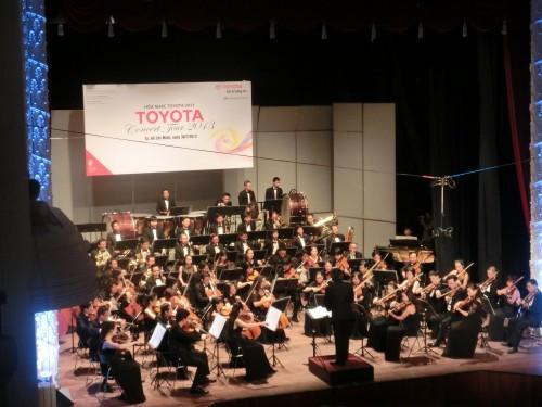 市民劇場でのトヨタ・クラシックコンサート2013
