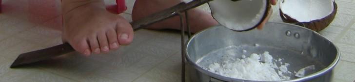 [2013/7/1]ココナッツを削る道具