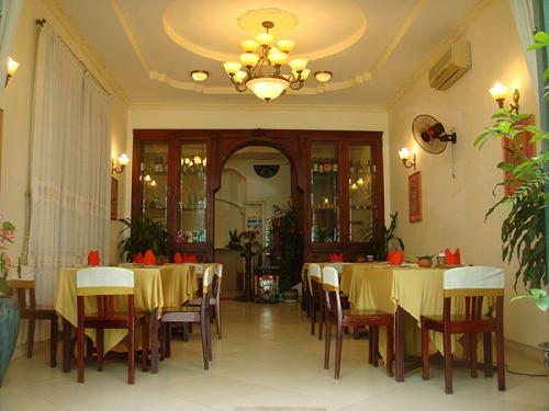 ベトナム料理教室 食堂