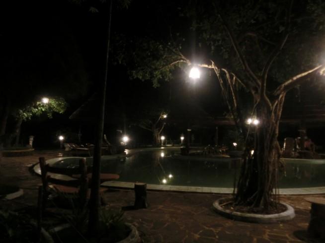 夜のミーアン温泉