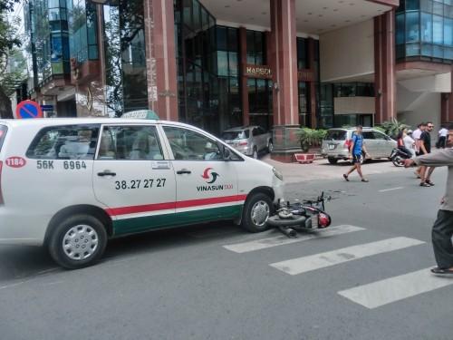 街中で起こる交通事故