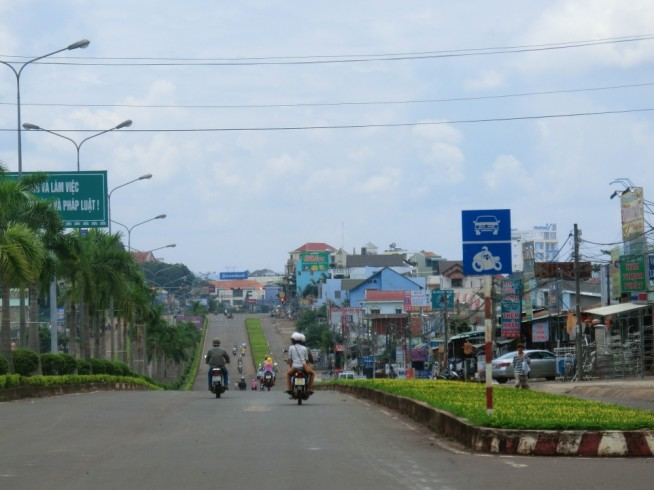 ビンフック省ドンソアイ市(Thị xã Đồng Xoài)