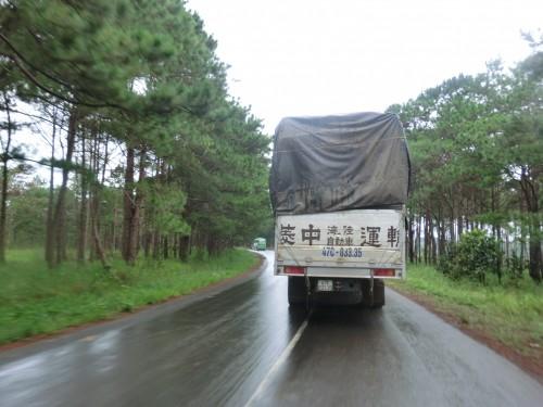 日本のトラック?