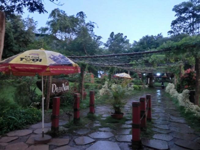 ダライヌア(Dray Nur)滝の入口