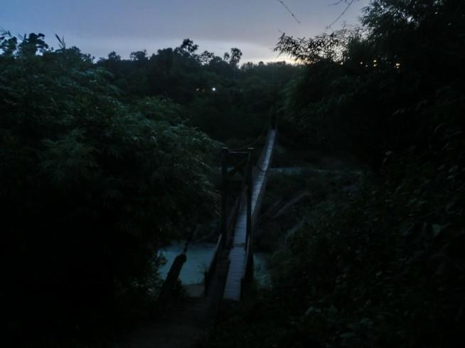 ダライサップの滝に向かいます