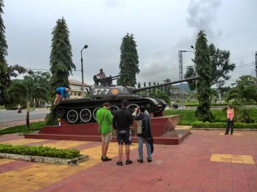 Dak Toの戦車