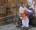 [2013/8/1]ポーナガールでみかけたチャム族の伝統工芸