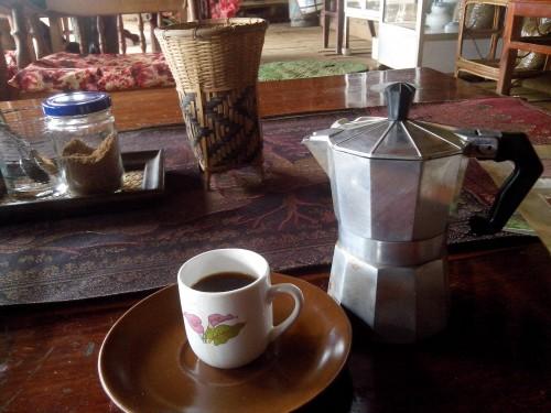 パークソーンのコーヒー