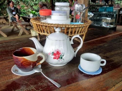 パークソーン郊外のコーヒーブレイク