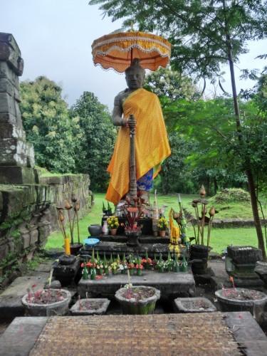 ワットプーにいた仏像