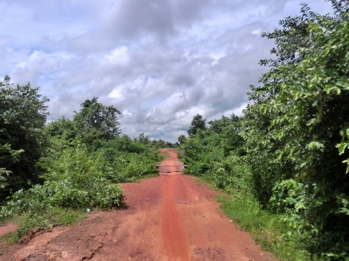 ナーンシーダー遺跡への道