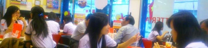 ロッテリア コープマート グェンディンチウ店(Lotteria Coopmart Nguyen Dinh Chieu)