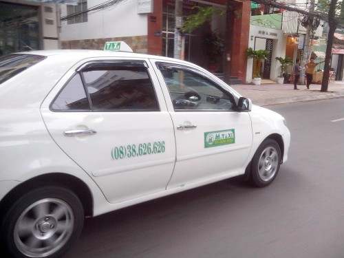 マイリンタクシーならぬ、エムタクシー