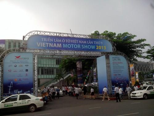 ベトナムモーターショー開催のSECC