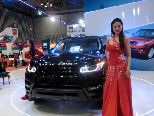Land Roverブース