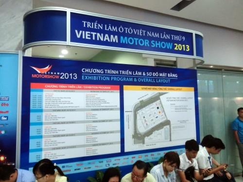 ベトナムモーターショー2013案内図