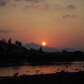 [2013/10/2]カムラン湾の夜明け
