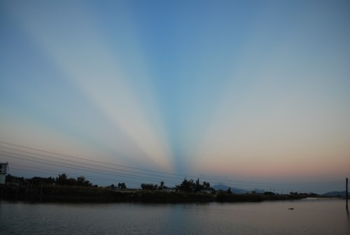 [2013/10/3]カムラン湾の夕暮れどき
