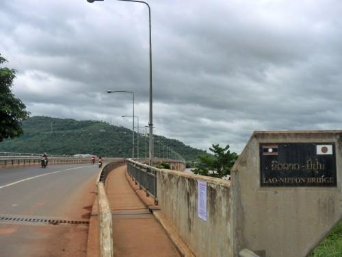 パークセー橋(Lao-Nippon Bridge)